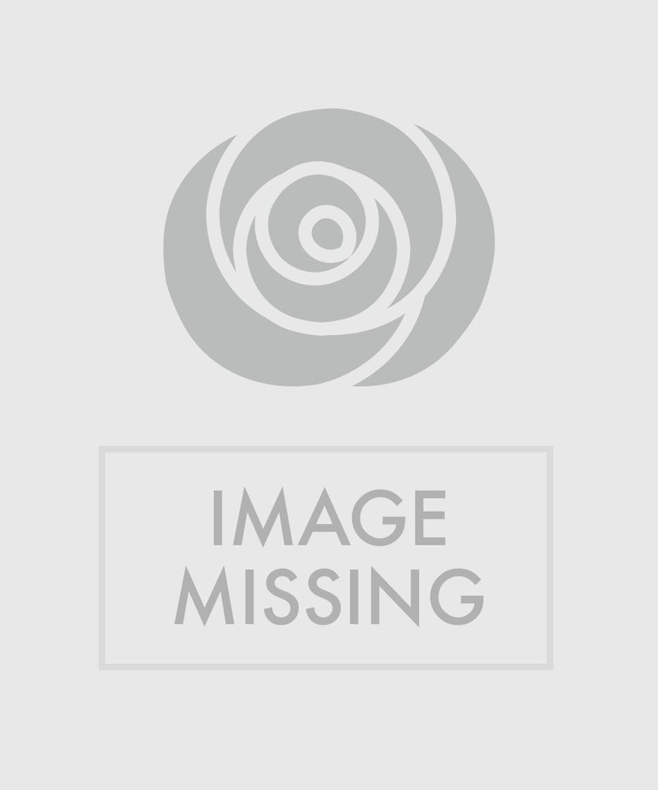 Soft earth tones accentuate the brilliant blue flowers and bring this season of rebirth into your home.
